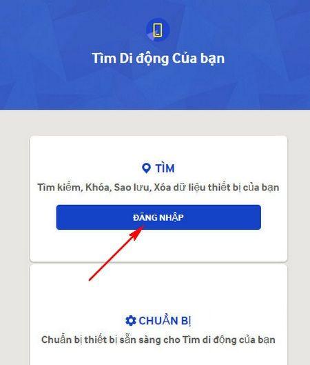 Hướng dẫn cách định vị điện thoại Samsung khi bị mất 1