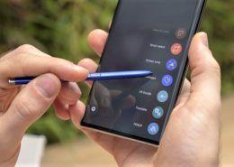 Hướng dẫn cách chụp ảnh màn hình trên Galaxy Note 10
