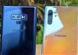 So sánh nhanh Samsung Galaxy Note10 và Galaxy Note9