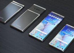 Các chuyên gia dự đoán hãng Hàn Quốc sẽ làm điện thoại có màn hình co giãn linh hoạt để đạt kích thước khác nhau vào đầu năm sau.