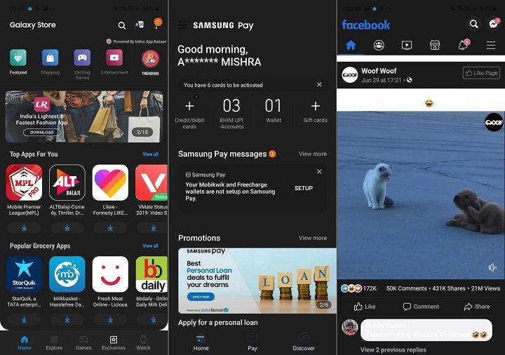 Cách bật Dark Mode tất cả ứng dụng trên Android 10 dành cho Galaxy S10 và Note 10