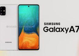 Samsung Galaxy A71 lộ thiết kế với cụm camera sau hình chữ nhật, màn hình đục lỗ giống Note10