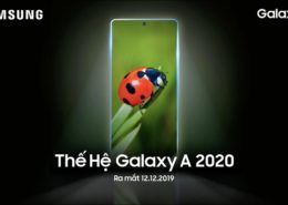 """Samsung Việt Nam """"nhá hàng"""" Galaxy A 2020 series, sẽ ra mắt vào ngày 12/12"""