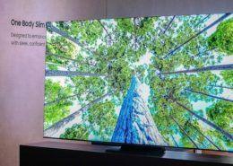Cận cảnh chiếc TV không viền của Samsung: Thiết kế cực kỳ ấn tượng, tỷ lệ màn hình 99%, chỉ mỏng 14,9mm