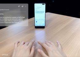 """Samsung ra mắt bàn phím """"tàng hình"""" SelfieType"""