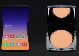 Smartphone màn hình gập mới của Samsung sẽ có tên là Galaxy Bloom, lấy cảm hứng thiết kế từ hộp phấn trang điểm