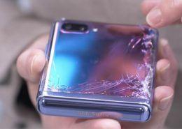 Galaxy Z Flip có giá thay màn hình gần 12 triệu đồng