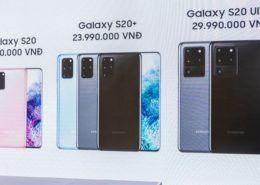 Giá bán Galaxy S20 Ultra tại Việt Nam rẻ hơn nước ngoài