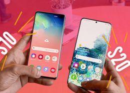 Sự khác biệt đáng kinh ngạc giữa màn hình 120Hz và 60Hz trên Galaxy S20 và Galaxy S10