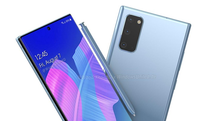 Galaxy Note20 Series xuất hiện tuyệt đẹp trong bản concept mới