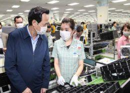 172 chuyên gia Hàn Quốc của Samsung tại Bắc Ninh âm tính lần đầu với virus Corona