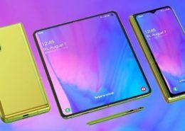 Rò rỉ thiết kế ấn tượng của Galaxy Fold 2