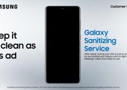 Samsung khử trùng điện thoại miễn phí cho người dùng tại Việt Nam