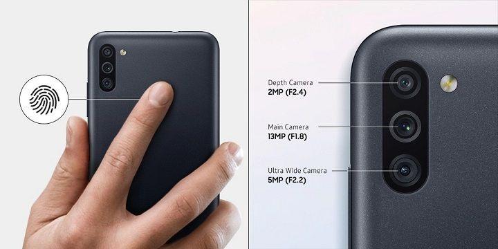Samsung ra mắt Galaxy M11: Màn hình Infinity-O, pin 5000mAh, 3 camera sau