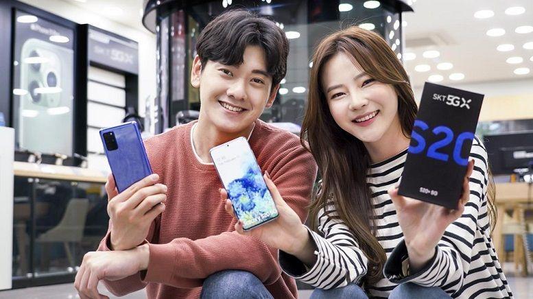 Samsung sẽ bán smartphone 5G tại hơn 40 quốc gia trong năm nay
