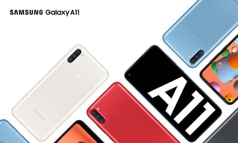 Galaxy A11 chính thức ra mắt tại VN: Camera góc siêu rộng, sạc nhanh 15W, giá 3,69 triệu