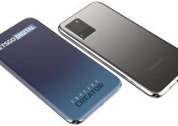 Samsung Galaxy S30 lộ thiết kế với màn hình cong tràn 4 cạnh