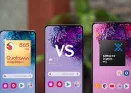 Samsung: Không có sự khác biệt về hiệu năng giữa Exynos 990 và Snapdragon 865 trên Galaxy S20