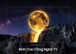 Samsung ra mắt TV QLED 8K không viền tại VN: Giá từ 100 triệu, tặng kèm Galaxy S20+