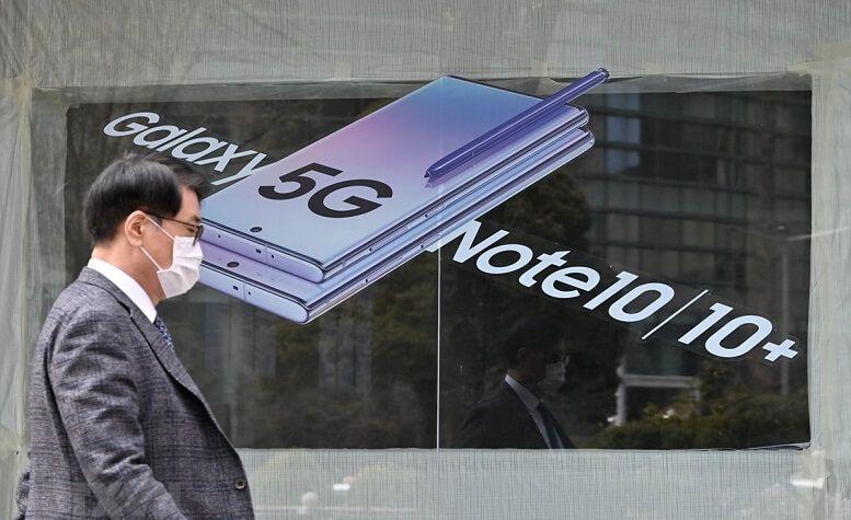 Samsung thương hiệu smartphone 5G lớn nhất thế giới trong quý I/2020