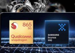 Bằng chứng cho thấy Exynos 990 yếu hơn Snapdragon 865