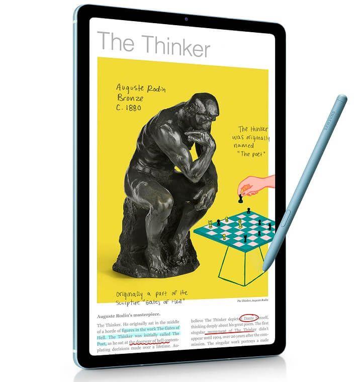 Galaxy Tab S6 Lite ra mắt tại VN: Bút S Pen thế hệ mới, giá 10 triệu đồng