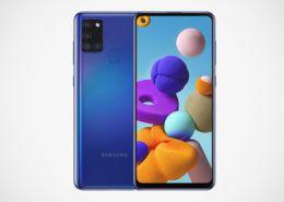 Samsung Galaxy A21s lên kệ ở Việt Nam: Camera 48MP, pin 5.000mAh, giá 4,69 triệu đồng