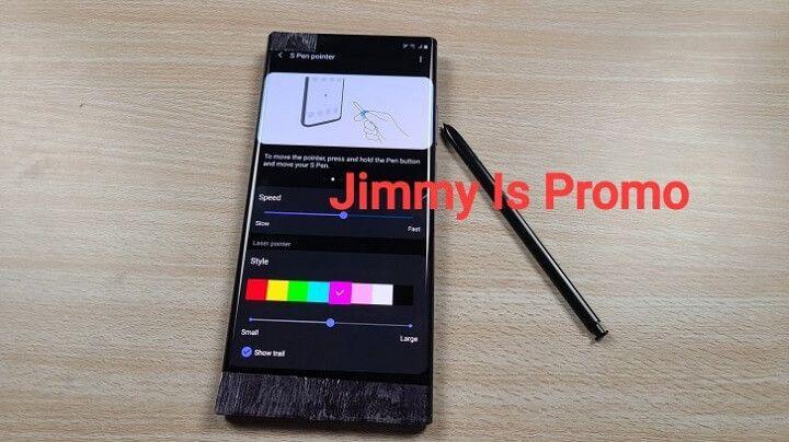 Bút S-Pen trên Galaxy Note20 có tính năng như con trỏ máy tính