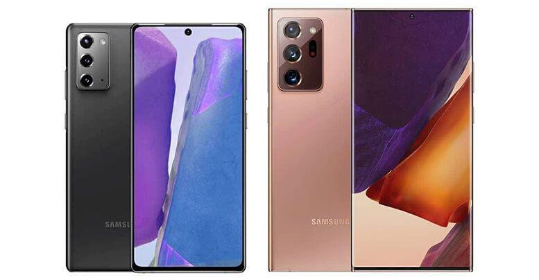 Đây là những khác biệt chính giữa Galaxy Note20 và Note20 Ultra