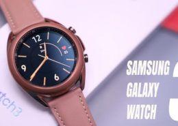 Galaxy Watch 3 lộ video đập hộp trước ngày ra mắt