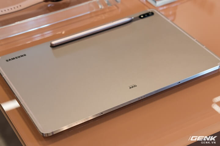 Ảnh thực tế Galaxy Tab S7 tại VN: Màn hình 120Hz, Snapdragon 865+, Samsung DeX không dây