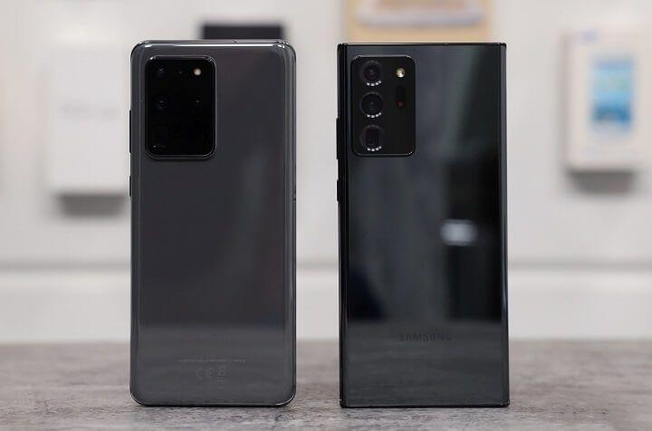 Chọn Galaxy Note20 Ultra hay S20 Ultra?