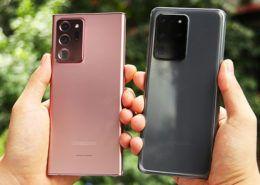 Đập hộp Galaxy Note20 Ultra 5G và trên tay nhanh cùng Galaxy S20 Ultra