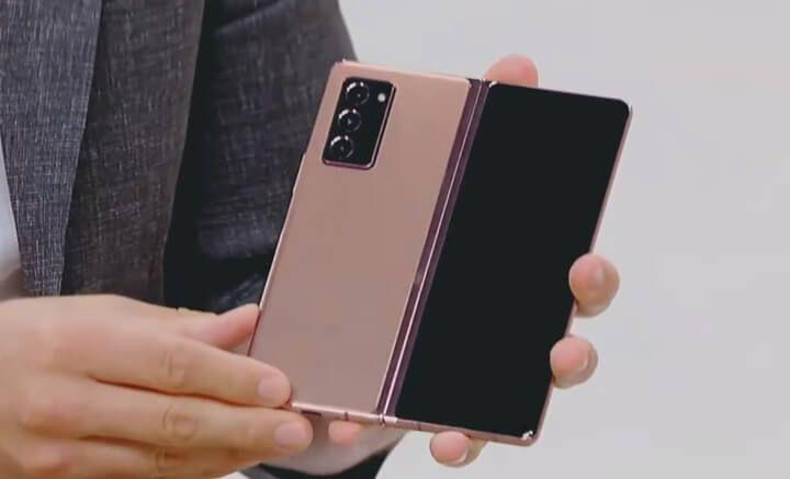 Galaxy Z Fold2 ra mắt - Thiết kế mới, nâng cấp bản lề, chống bụi tốt hơn