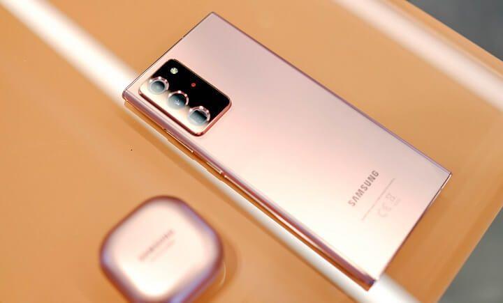 Xuất khẩu Việt Nam tăng nhờ Galaxy Note20