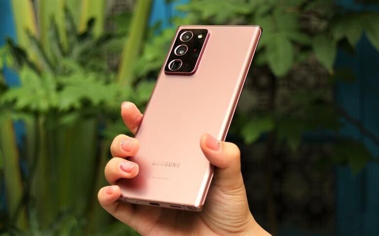 Galaxy Note20 Ultra có chi phí sản xuất là 549 USD