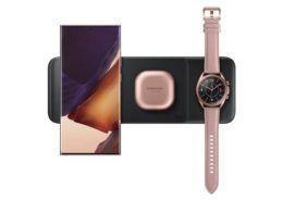 Samsung ra mắt đế sạc không dây sạc được 3 thiết bị cùng lúc, giá chỉ 99 USD