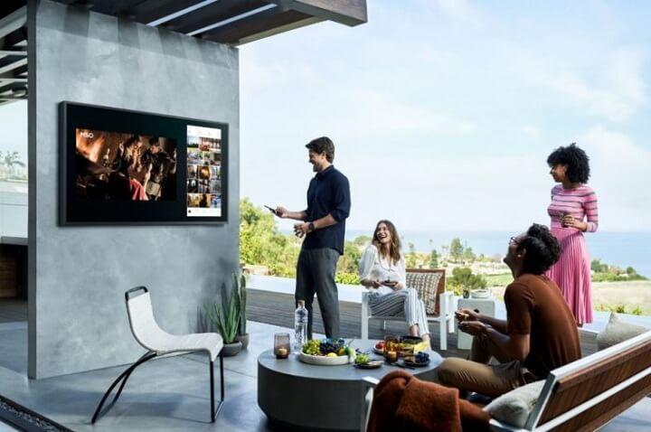 Samsung ra mắt TV QLED ngoài trời ở Việt Nam, giá từ 100 triệu đồng