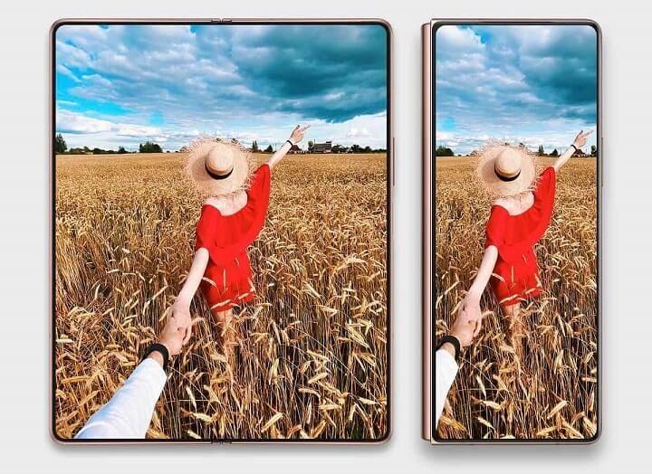 Galaxy Z Fold3 sẽ là smartphone đầu tiên của Samsung có camera ẩn bên dưới màn hình