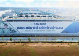Samsung tiết lộ lý do chọn Bắc Ninh, Thái Nguyên làm địa điểm đặt nhà máy ở Việt Nam