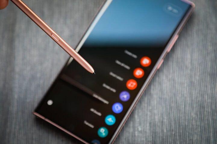 Cách làm việc nhàn nhã vẫn hiệu quả với Galaxy Note20