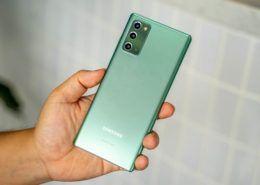 Galaxy Note20 giảm giá 7 triệu đồng tại Việt Nam