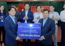 Nhân viên Samsung Việt Nam đóng góp hơn 1.5 tỷ đồng ủng hộ đồng bào miền Trung