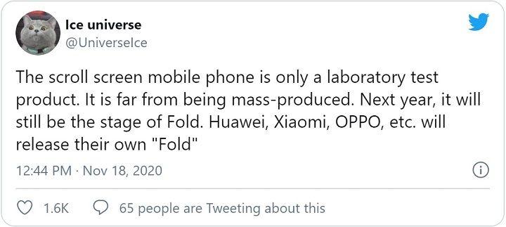 Samsung sẽ là nhà sản xuất đầu tiên thương mại hóa điện thoại màn hình cuộn?