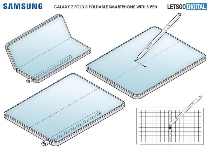 Thêm bằng chứng cho thấy Galaxy Z Fold3 sẽ được tích hợp bút S Pen