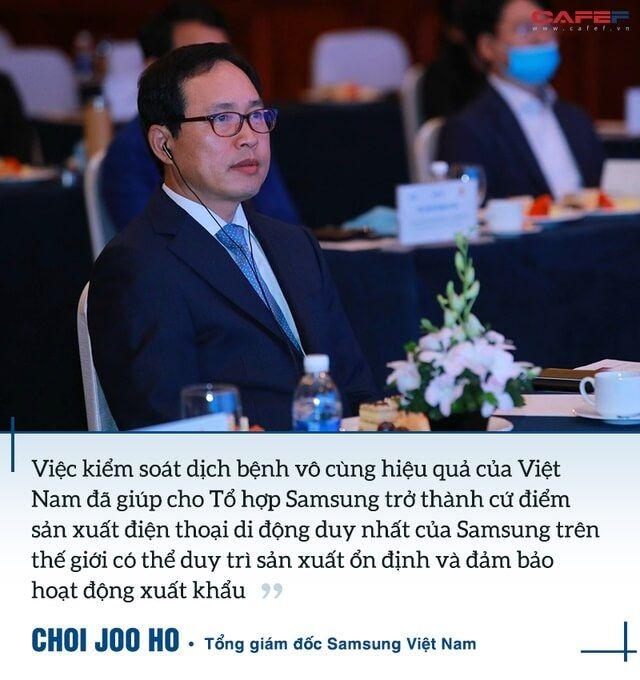 Việt Nam là cứ điểm sản xuất smartphone duy nhất của Samsung trên toàn cầu duy trì hoạt động ổn định