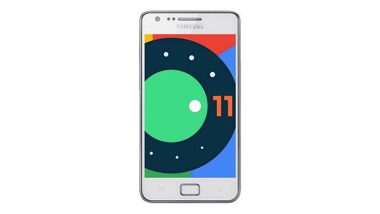 Chiếc smartphone 9 năm tuổi Galaxy S2 bất ngờ có thể cài đặt Android 11
