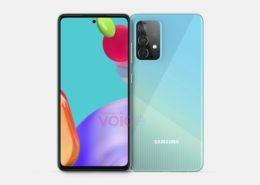 Galaxy A52 5G lộ diện với thiết kế quen thuộc cùng màn hình Infinity-O
