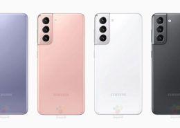 Galaxy S21 rò rỉ loạt ảnh báo chí chính thức tất cả các phiên bản màu sắc