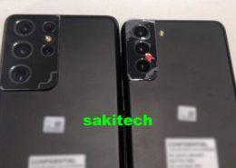 Galaxy S21 Ultra và S21+ lần đầu lộ ảnh thực tế với cụm camera hoàn toàn mới
